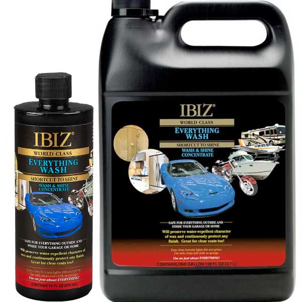 Ibiz everything wash the top car wash soap wax direct ibiz everything car wash soap solutioingenieria Image collections